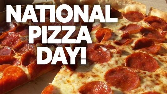 96+] National Pizza Day Wallpapers on WallpaperSafari