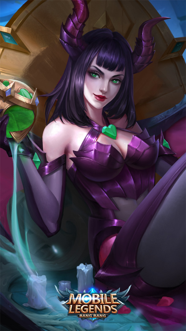 Alice Mobile Legends Wallpapers 607x1080