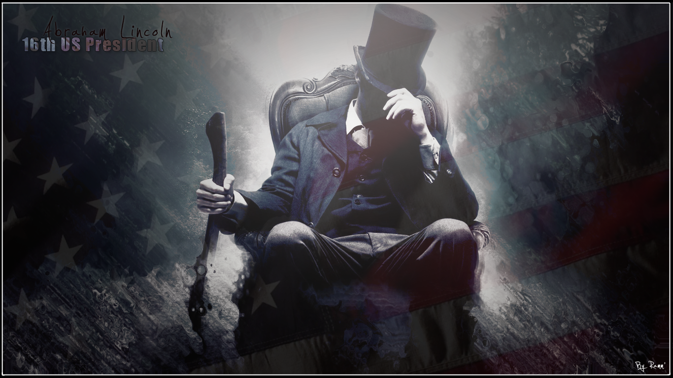 34 Abraham Lincoln Wallpapers Abraham Lincoln High 1366x768