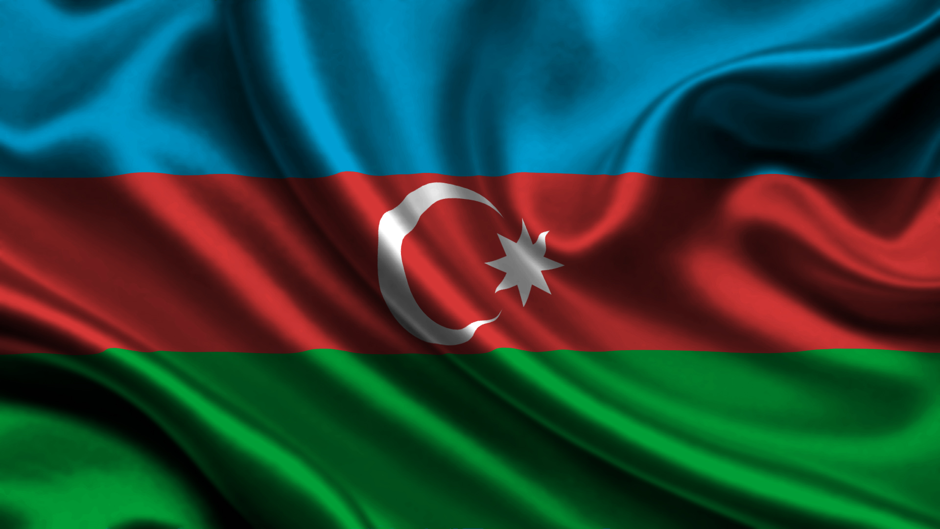 3 flag of Azerbaijan HD Wallpapers Background Images   Wallpaper 1920x1080