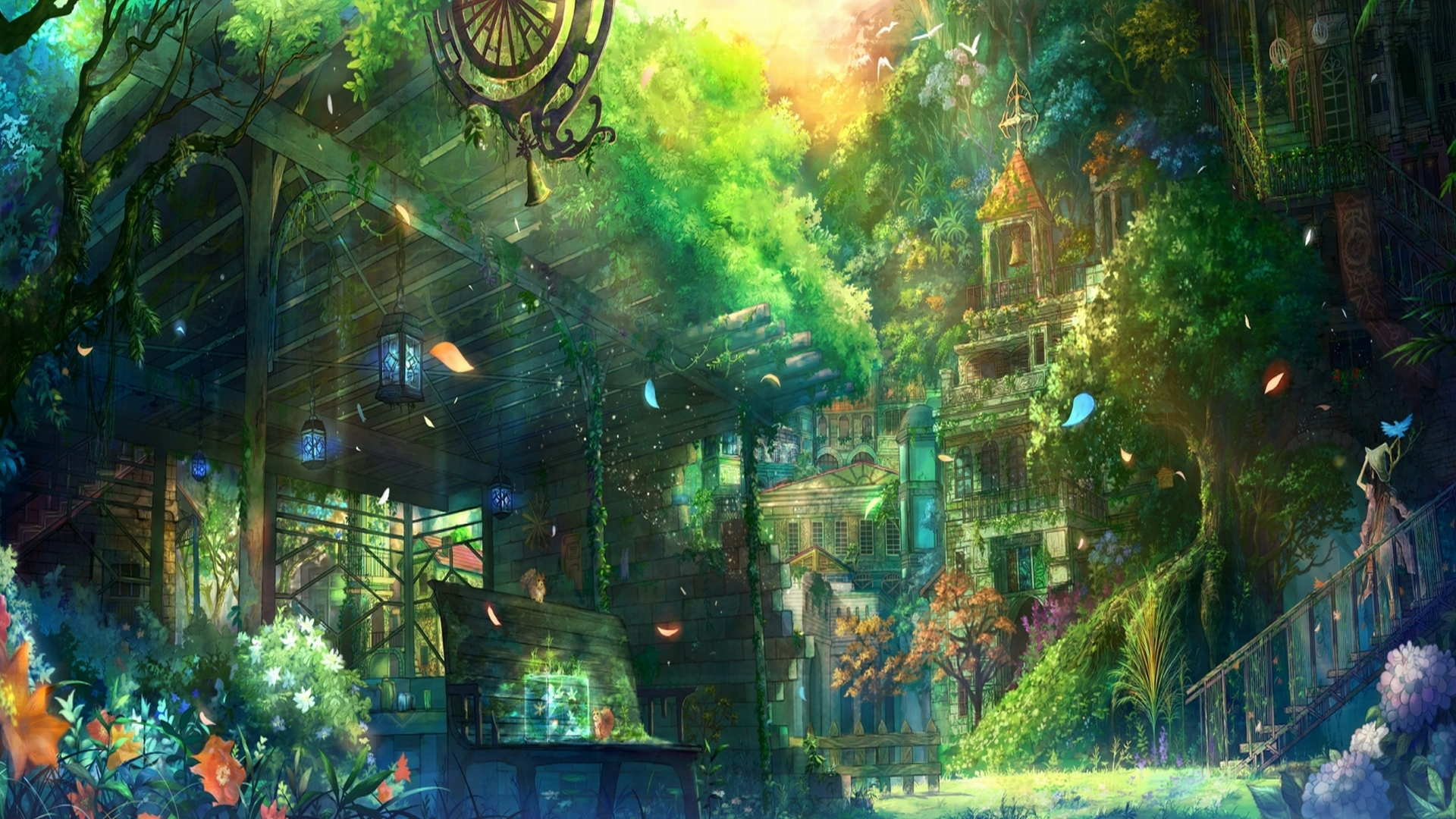 Anime City Wallpapers   First HD Wallpapers 1920x1080