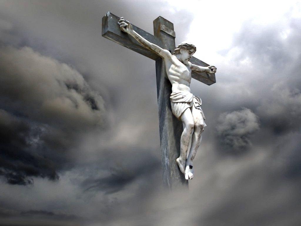 Jesus Christ on Cross Wallpaper 1024x768