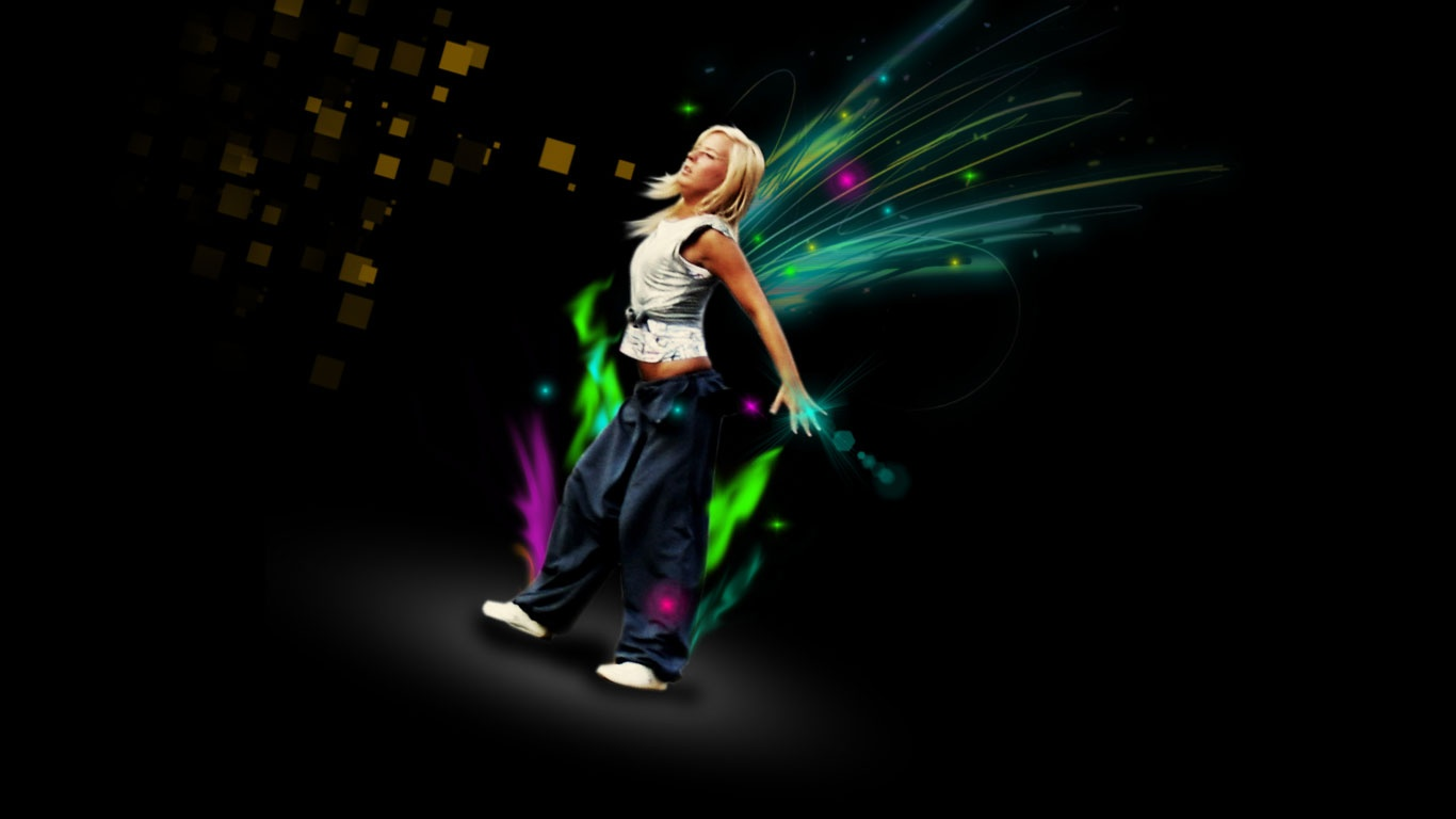 1366x768 The Fairy Dance wallpaper music and dance wallpapers 1366x768