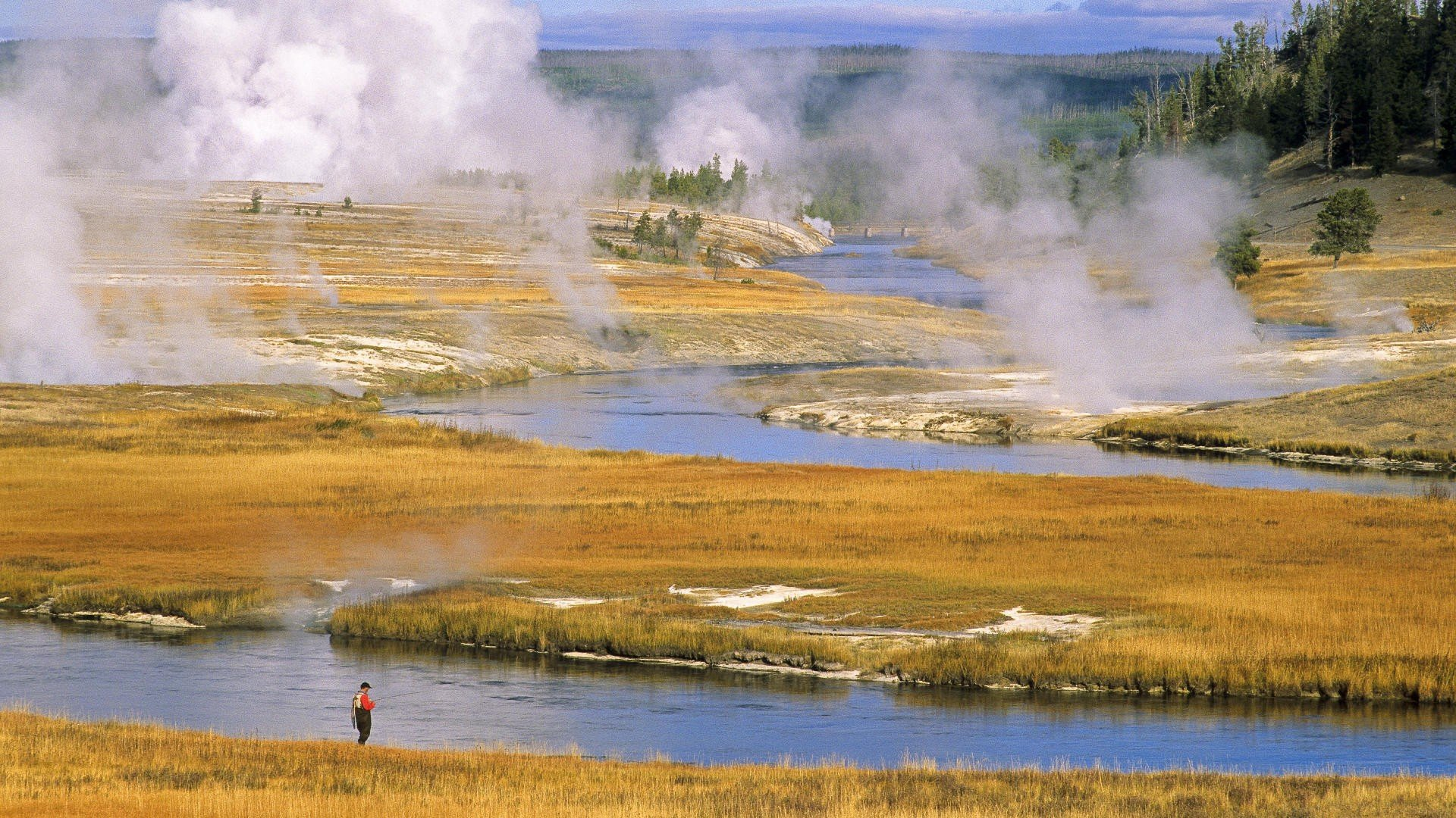 Yellowstone National Park wallpaper 1920x1080 227640 WallpaperUP 1920x1080