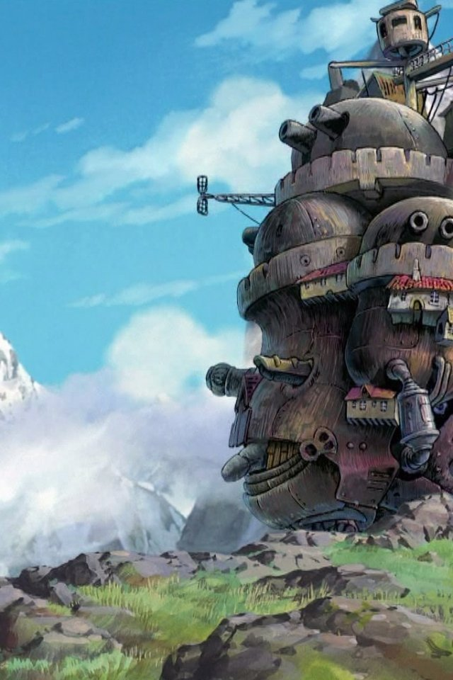 Studio Ghibli Wallpaper Iphone Wallpapersafari