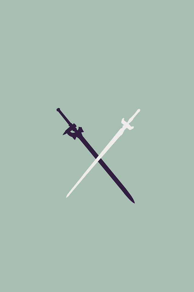 sword art online phone wallpaper wallpapersafari
