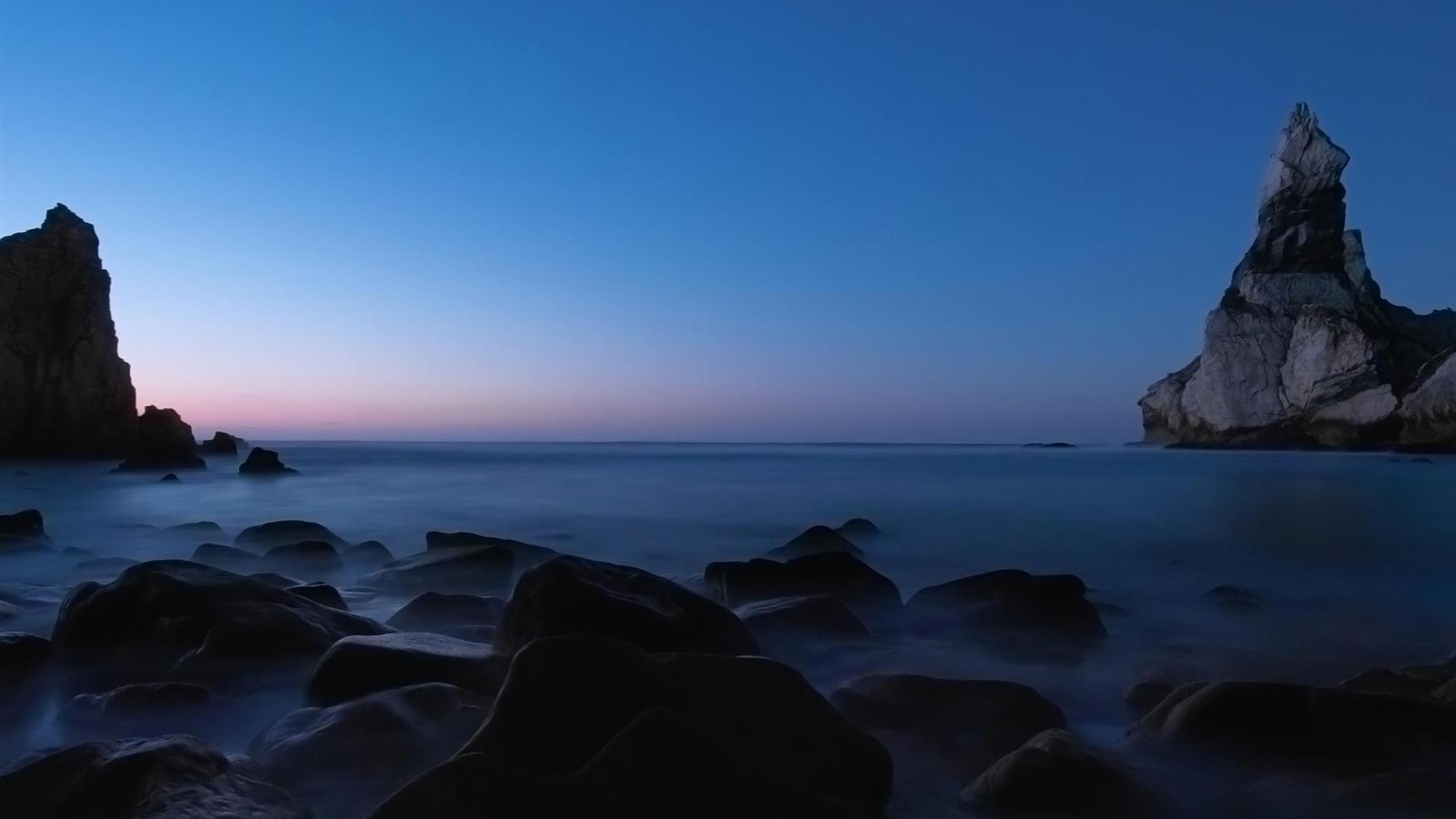 calm sea natural landscape wallpaper Full HD Desktop Wallpaper 1920x1080