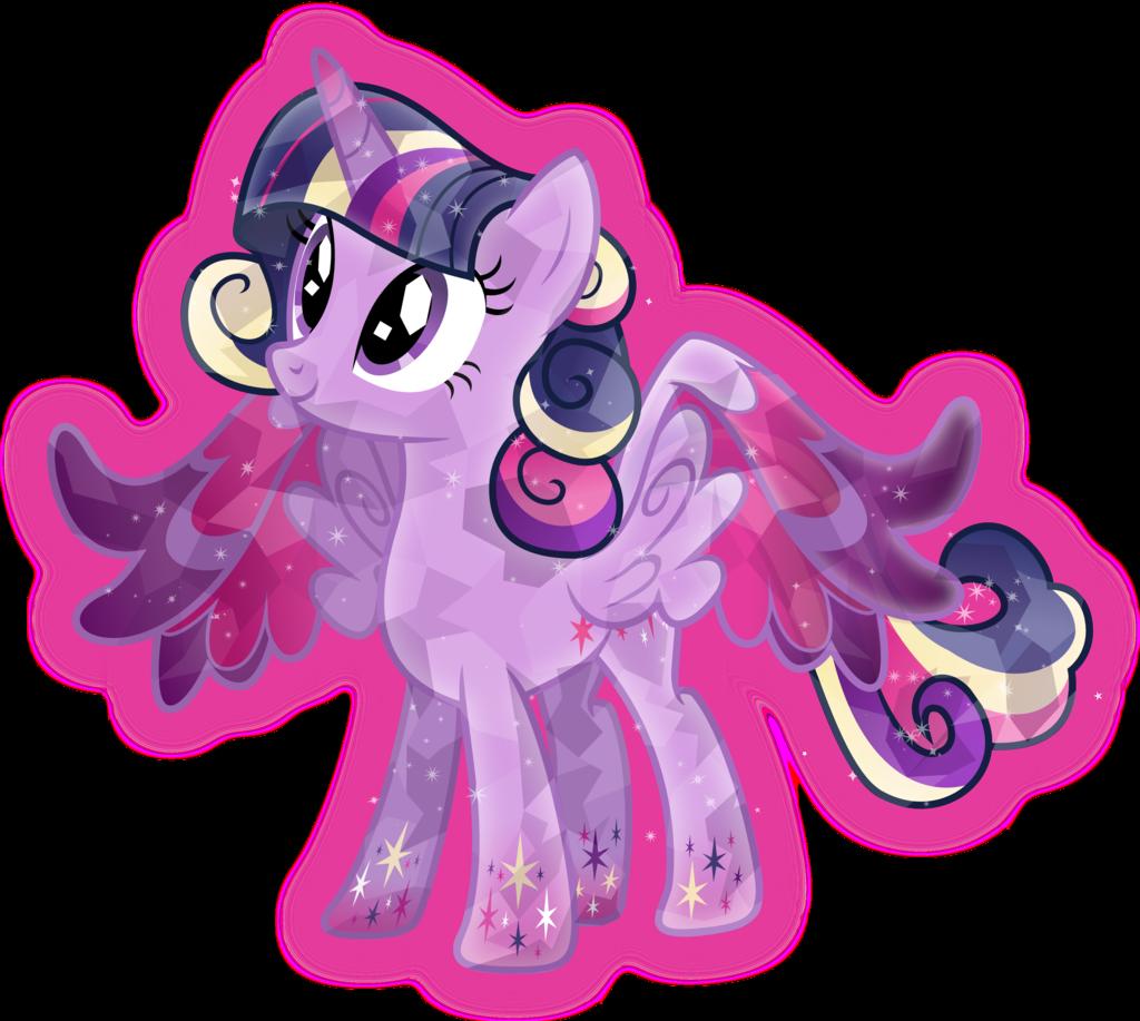 Rainbow Power Crystal Princess Twilight Sparkle by TheShadowStone on 1024x917