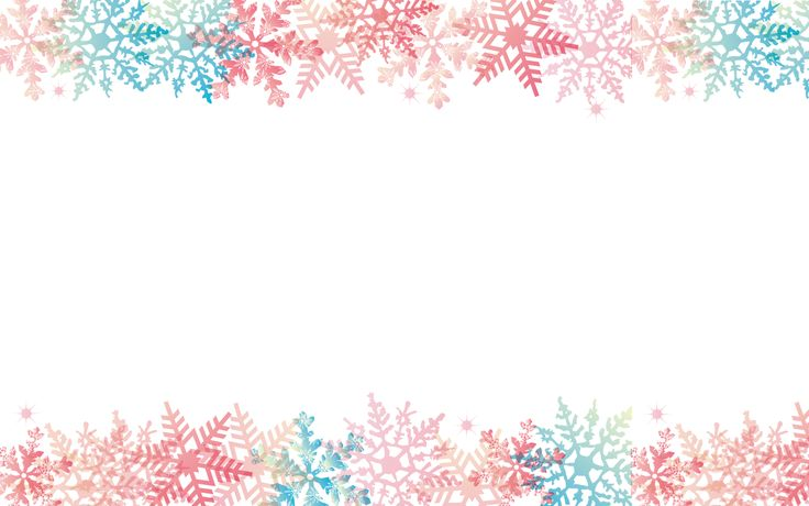 Free download Snowflakes Cute Christmas desktop backgrounds