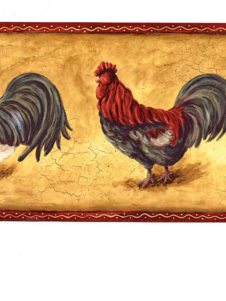 rooster wallpaper border 2015   Grasscloth Wallpaper 720x960