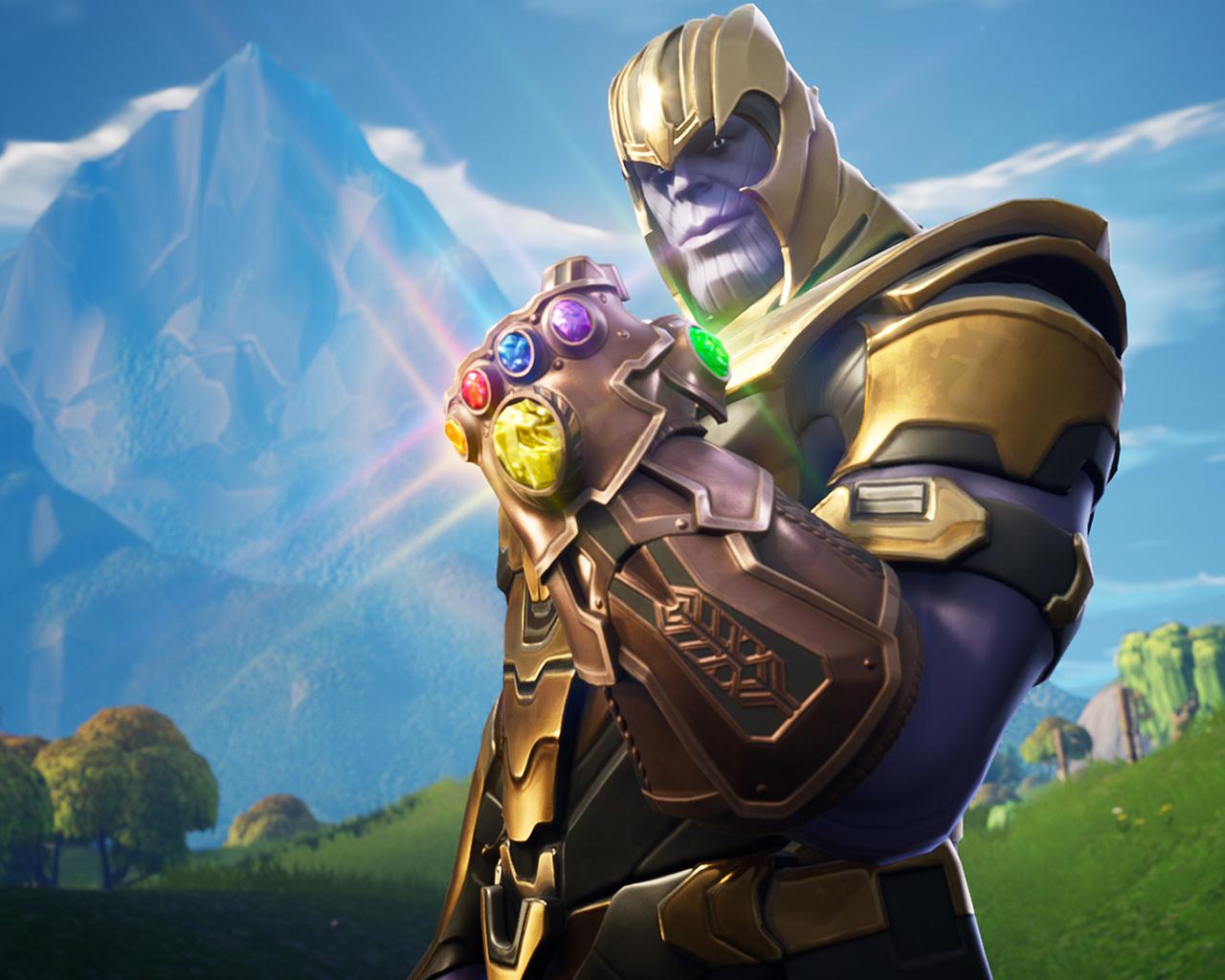 1280x1024 Thanos In Fortnite Battle Royale 1280x1024 Resolution HD 1280x1024