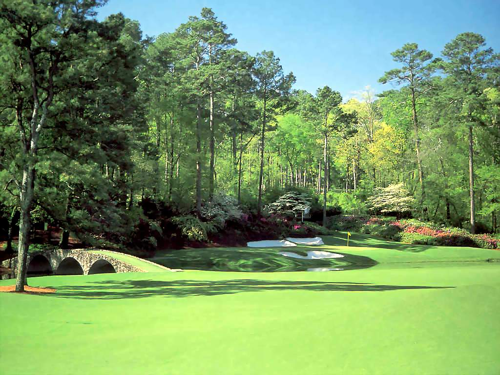 Augusta National 13 - Sports Wallpaper Image featuring Golf