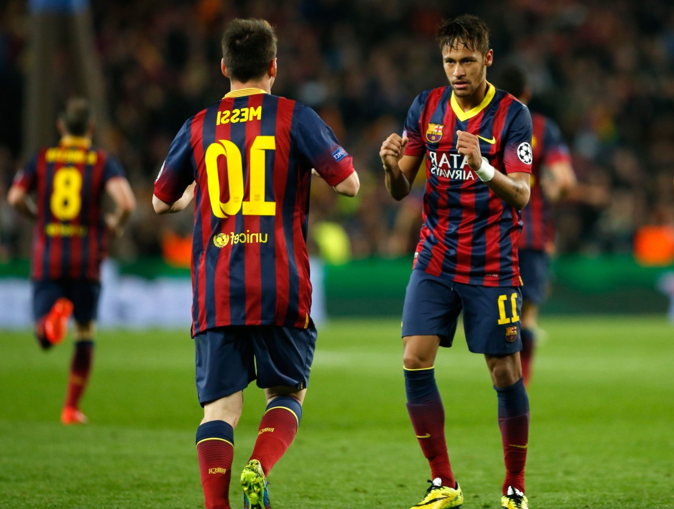 c8e5729f017 Barcelona Neymar Messi 16130 Wallpaper Wallpaper hd 1357x1024