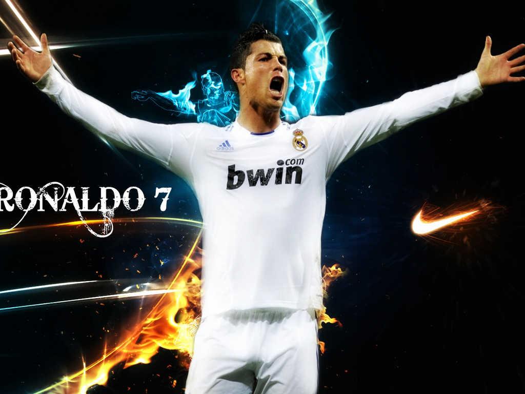 Cristiano Ronaldo Real Madrid Wallpaper 1024x768
