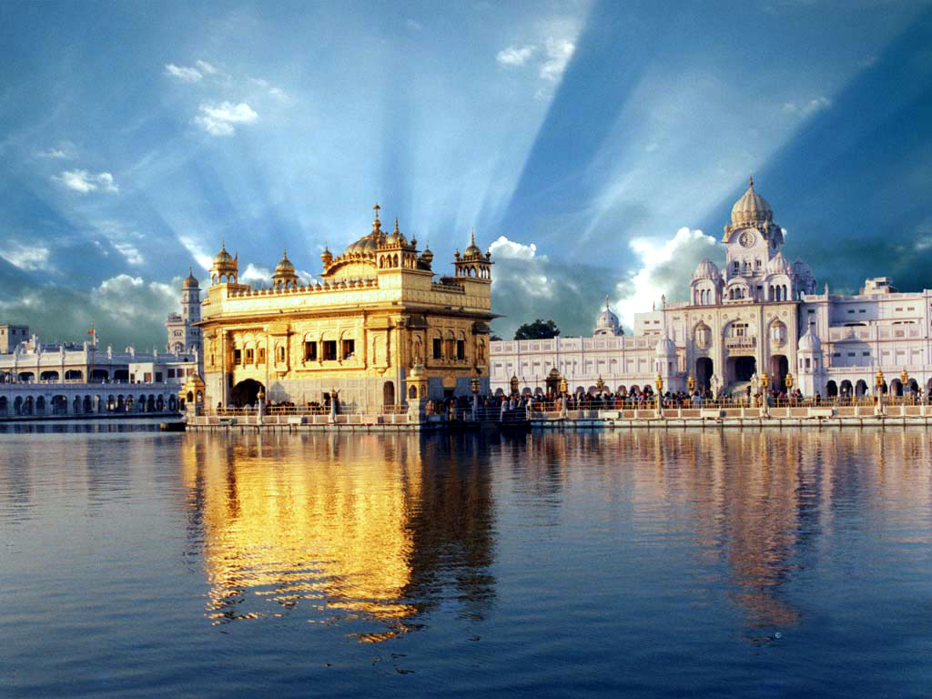 1024x768px golden temple hd wallpaper - wallpapersafari