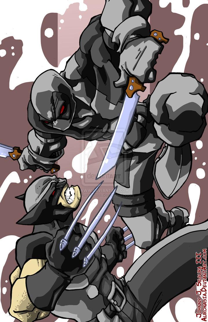 Wolverine Vs Deadpool Wolverine vs deadpool x force 719x1111