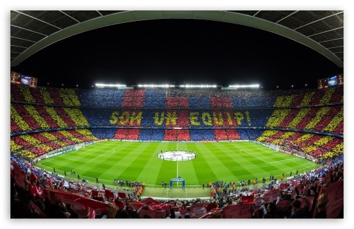 FC Barcelona Camp Nou Stadium HD desktop wallpaper Widescreen High 510x330