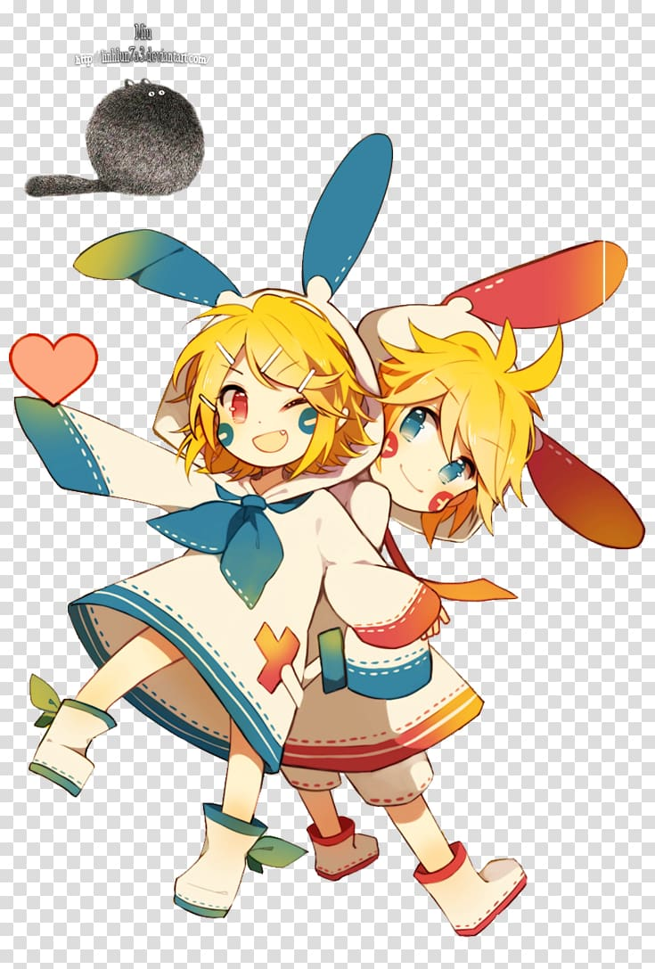 Kagamine RinLen Vocaloid Hatsune Miku Meiko Megurine Luka 735x1087