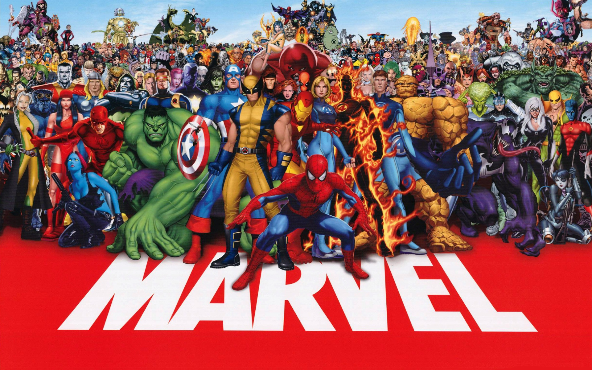 Marvel Super Heroes Wallpaper - WallpaperSafari