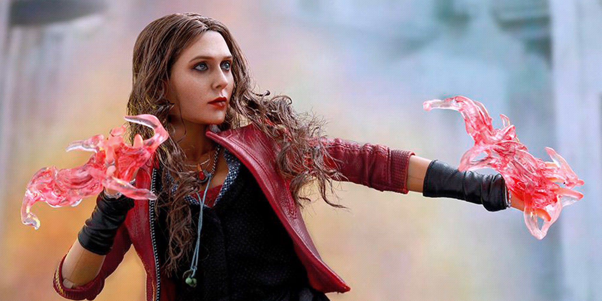 Films Avengers Age Of Ultron Elizabeth Olsen Scarlet Witch Wallpaper 2009x1005