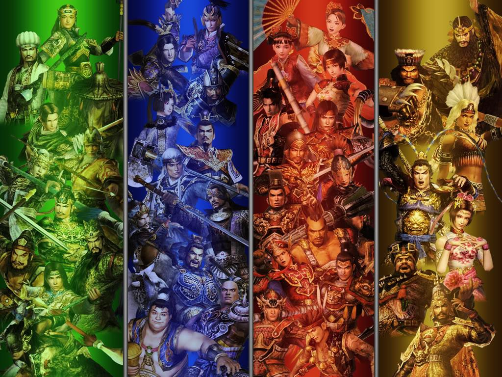 Dynasty Warriors Wallpapers - WallpaperSafari