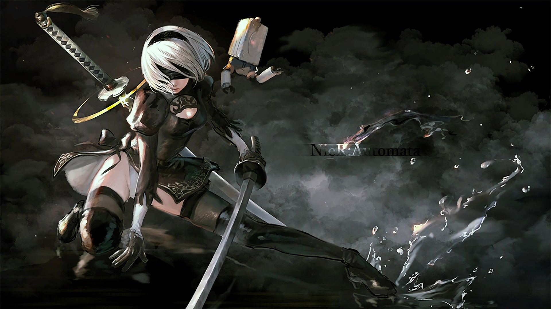 Free Download Nier Automata Game 279 Wallpapers 6 1920x1080 For