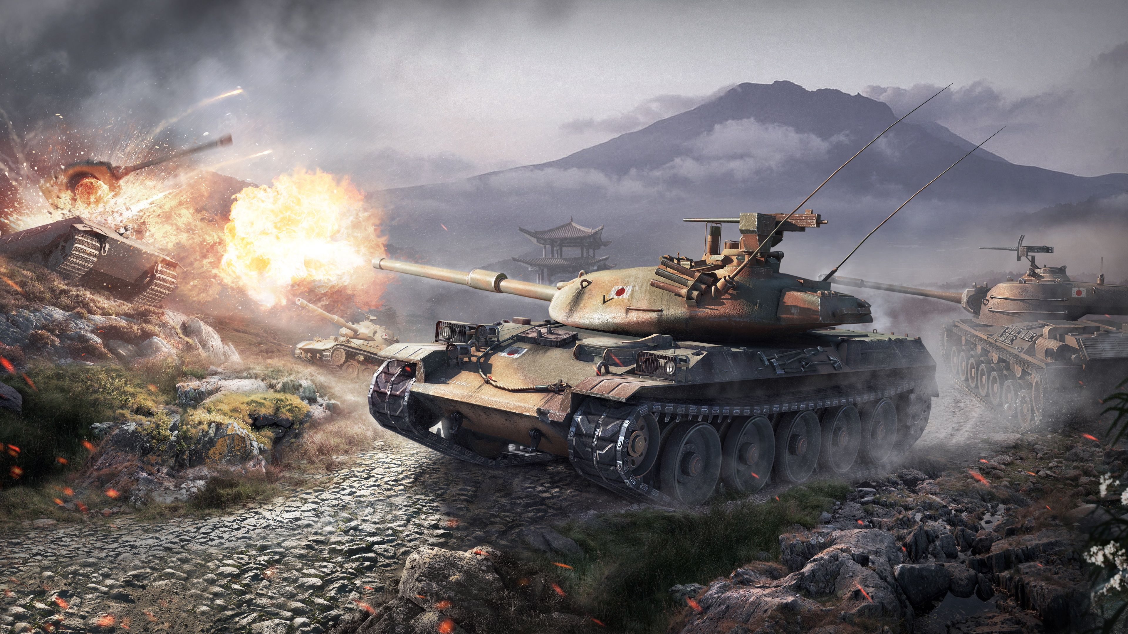 World of Tanks Wallpapers   Top World of Tanks Backgrounds 3840x2160