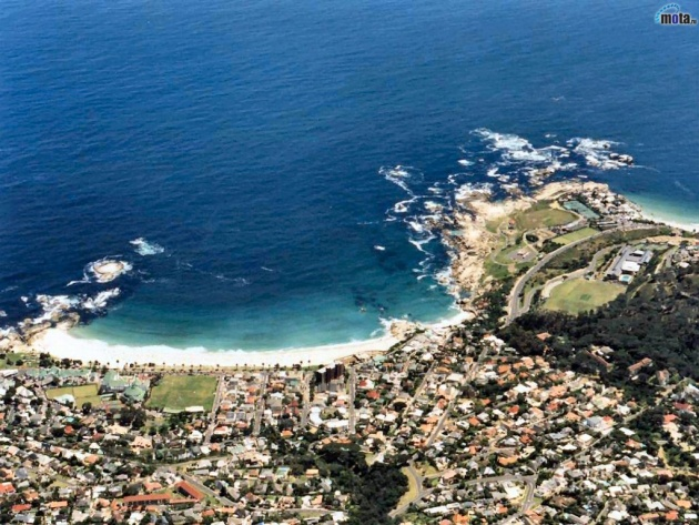 Wallpaper Camps Bay from top of Table Mountain   Photos and Walls 630x473