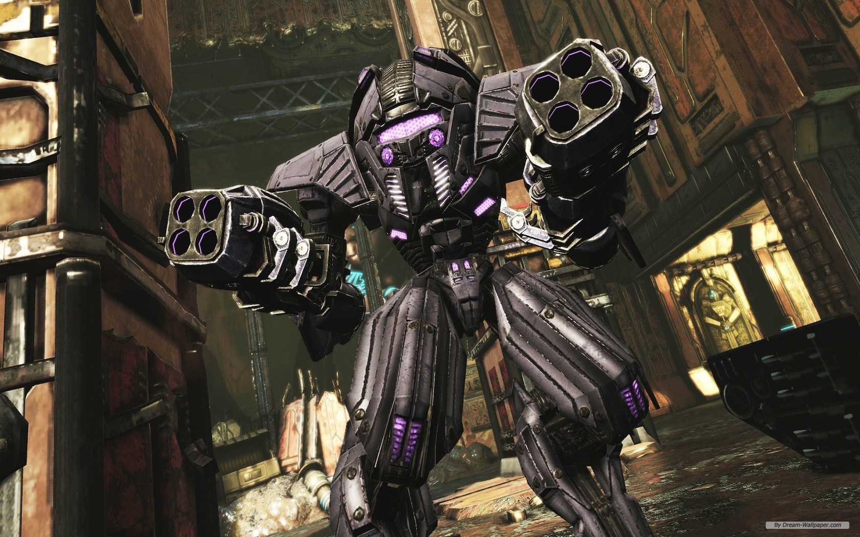 Free Download Game Wallpaper Transformers Fall Of Cybertron