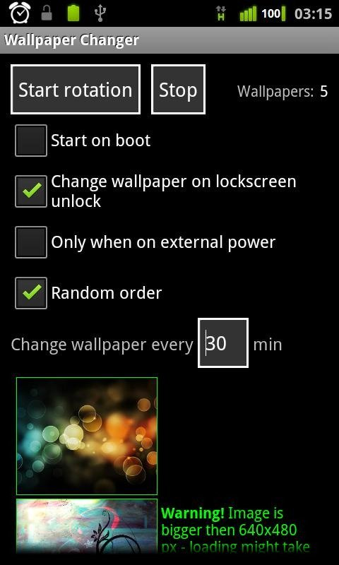 Change Wallpapers On Your Android Phone Using Wallpaper Changer App 480x800