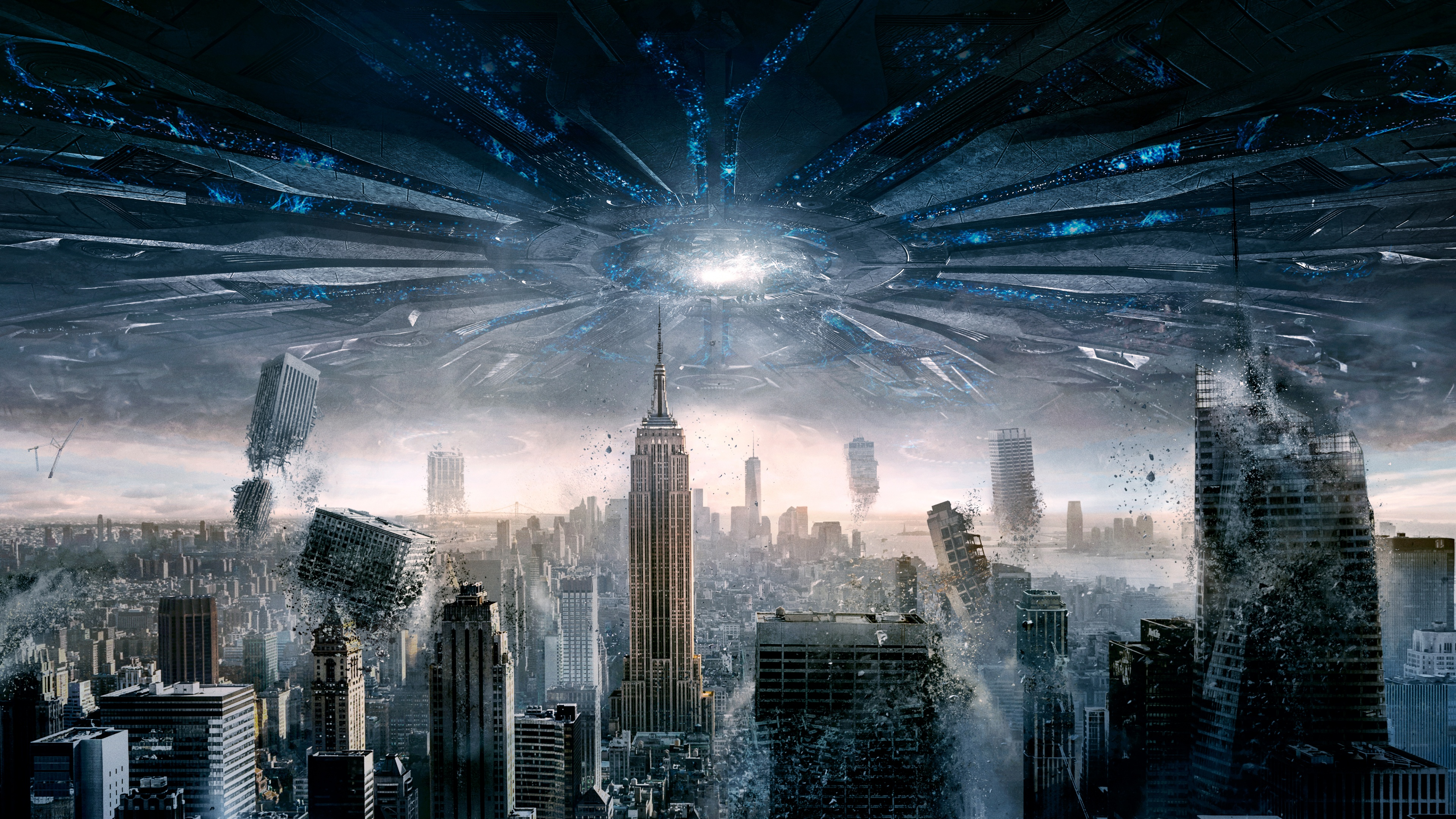 New York Independence Day Resurgence Wallpapers in jpg format for 3840x2160