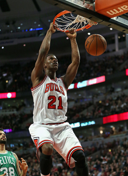 Joakim Noah Feeds Jimmy Butler for Two-Handed Dunk (VIDEO) |Jimmy Butler Dunk Wallpaper