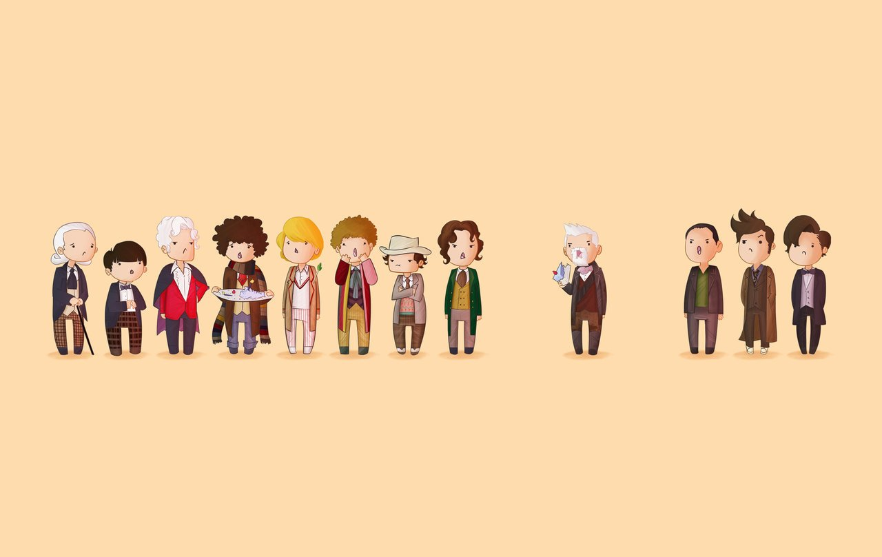 All 13 Doctors Wallpaper Doctor who 50th wallpaper by 1280x808