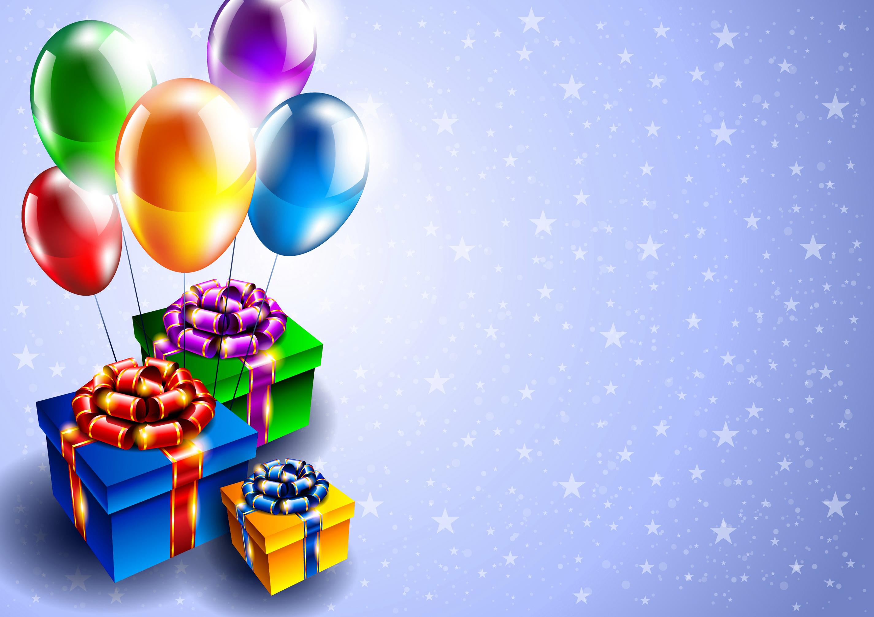 Balloon Birthday Invitation with luxury invitation layout