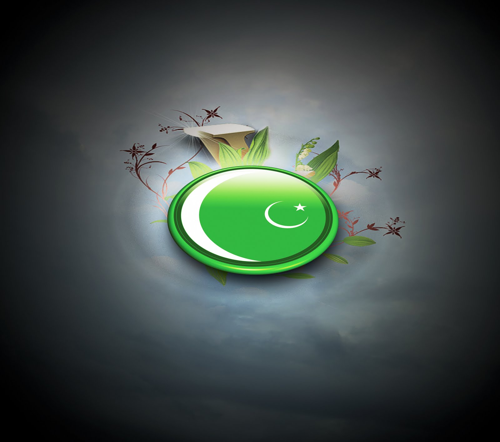 Happy Independence Day   14th August Pakistani Flags Wallpapers Top 10 1600x1416