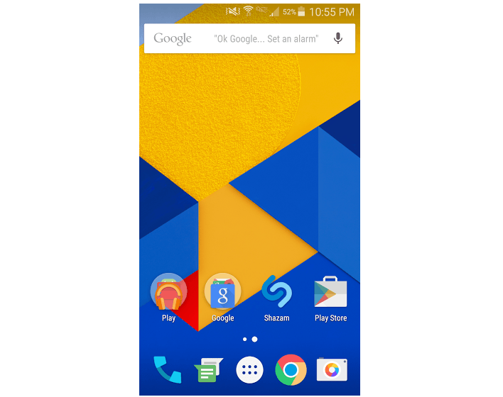 Android Marshmallow Launcher 708x560