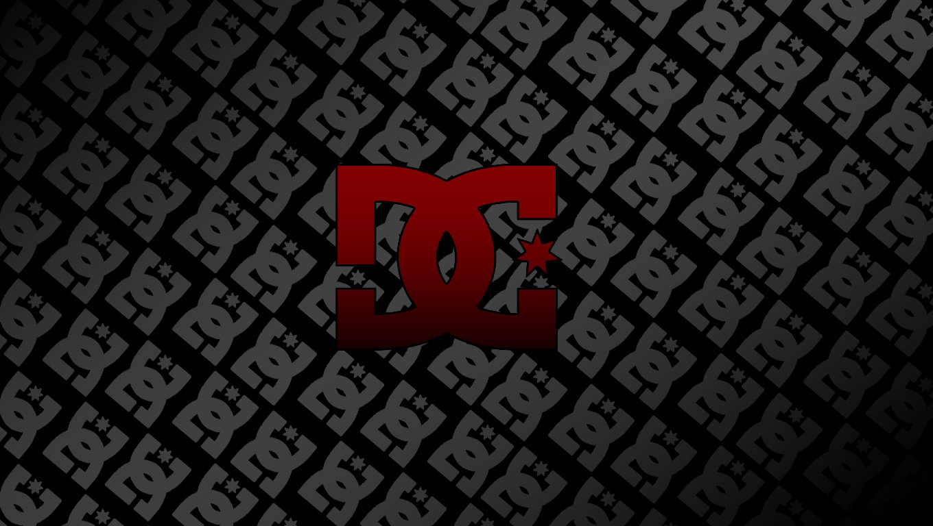 DeviantArt More Like DC Shoe logo mini wallpaper by freddijs 1360x768