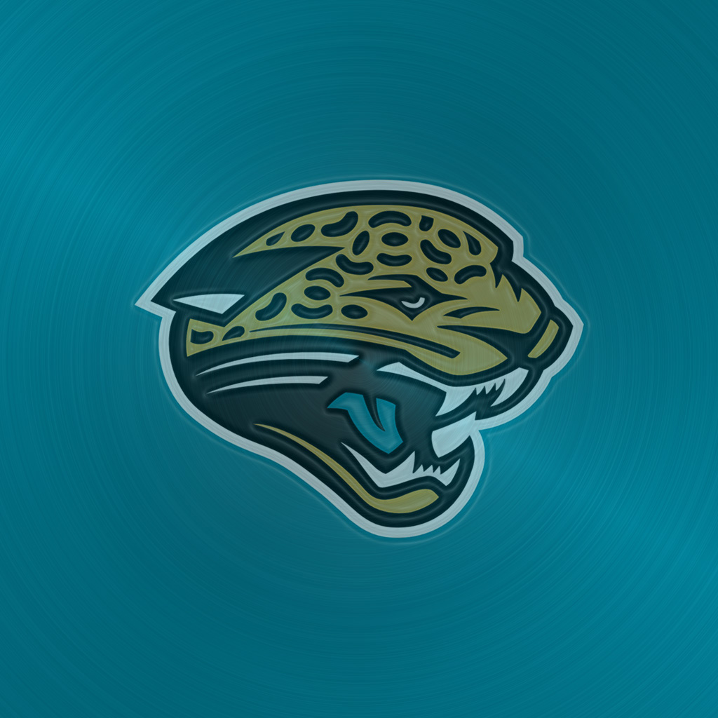 iPad Wallpapers with the Jacksonville Jaguars Team Logos Digital 1024x1024