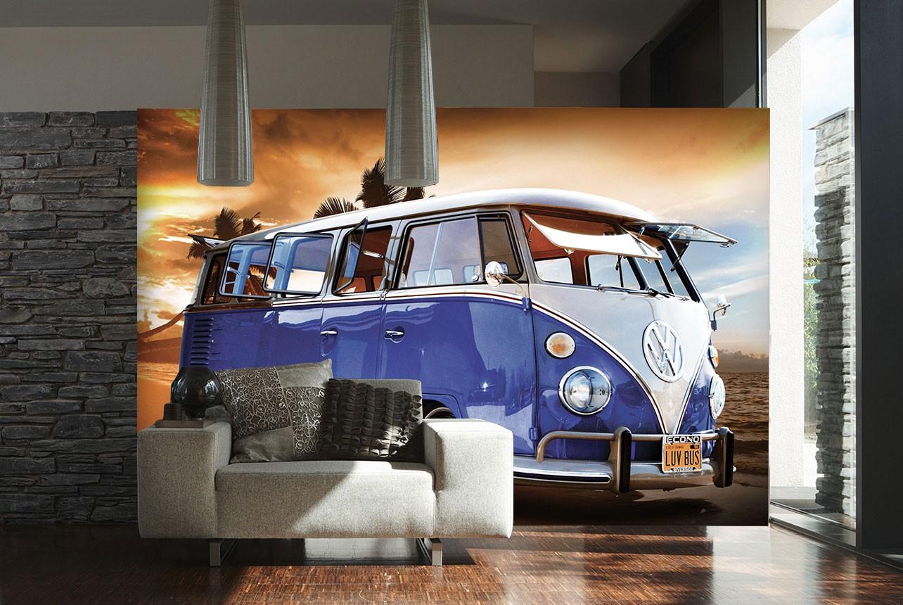 Volkswagen Camper Van VW Giant Wall Mural 315 x 232 1Wall 1284x860