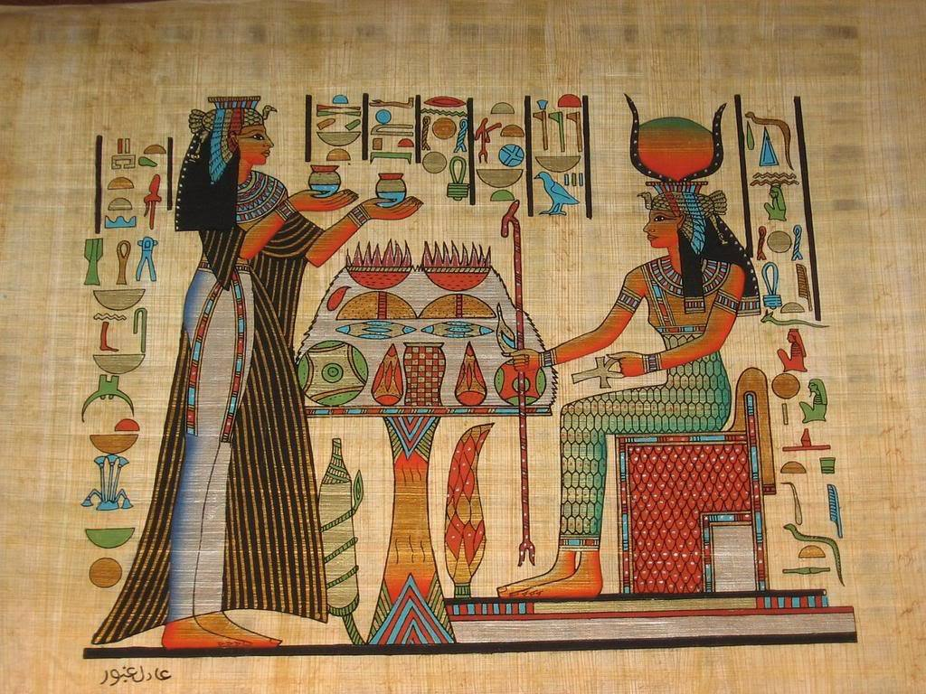 Egyptian art wallpaper wallpapersafari for Escultura mural