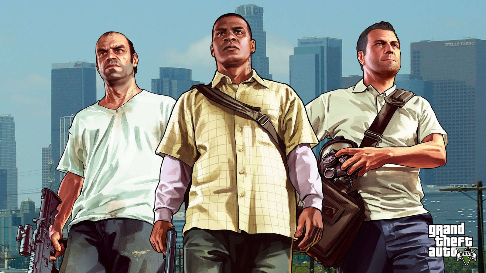 GTA 5 2013 Wallpaper HD 1600x900