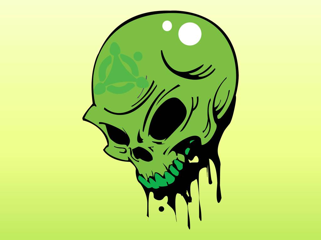 Toxic Skull Wallpaper Viper 1024x765