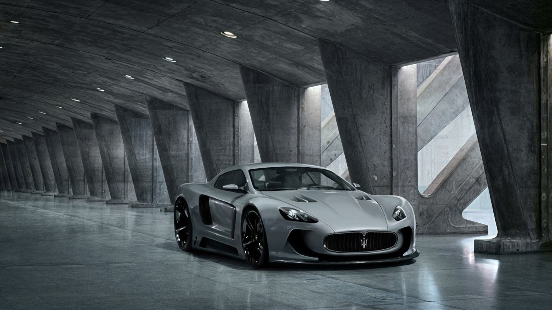 Cars Maserati Wallpaper 1920x1080 Cars Maserati Vehicles Concept 1920x1080