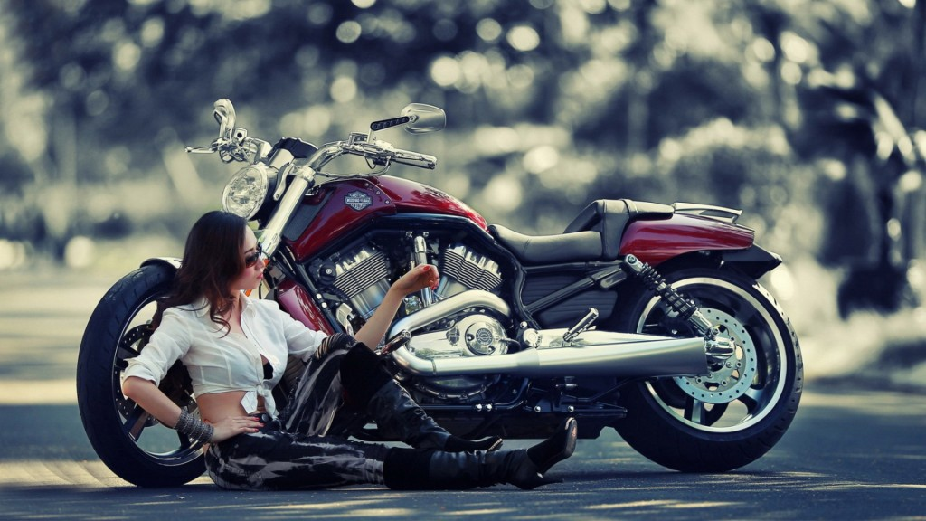 Harley Davidson bike by applying the Harley Davidson Wallpapers 1024x576