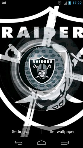 Download View Bigger Oakland Raiders Live Wallpaper For Android