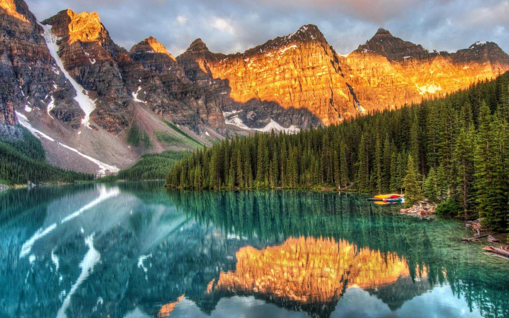 moraine banff national park   134868   High Quality and Resolution 1680x1050