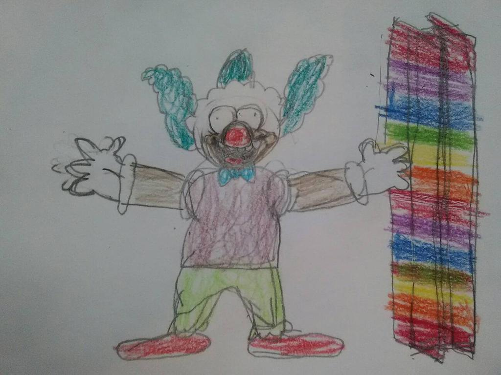 Krusty the Gurdurr Clown by holyknight750 1024x768