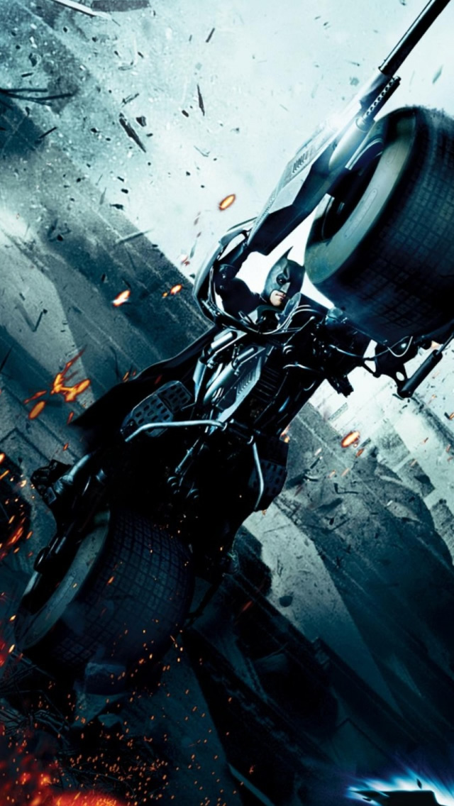 Dark Knight Bat Pod iPhone Wallpapers Download 640x1136