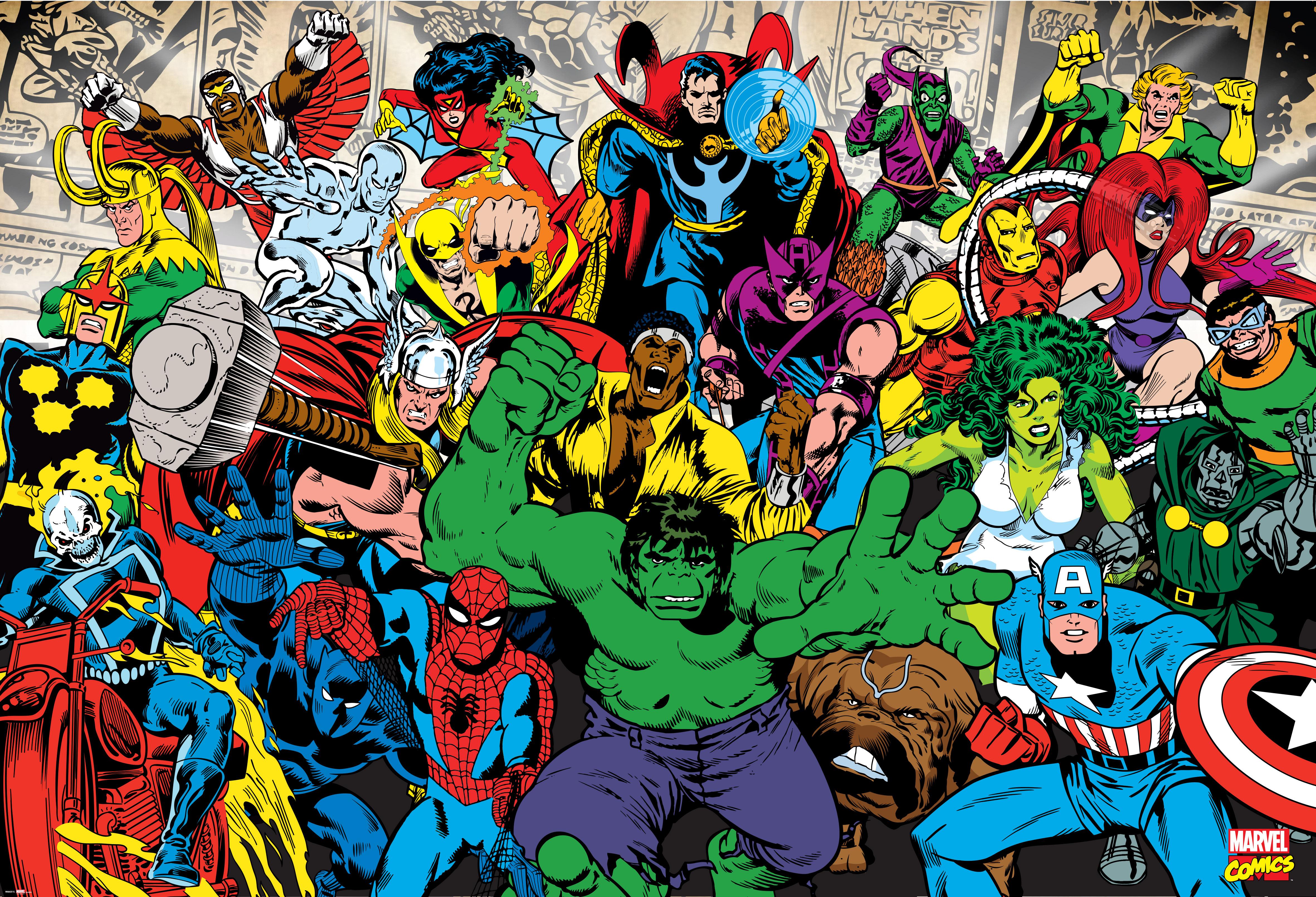 Marvel Villains Wallpaper - WallpaperSafari