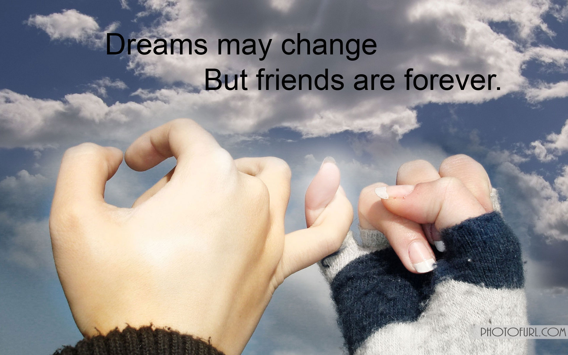 Friendship Wallpapers With Quotes Wallpapers 1920x1200